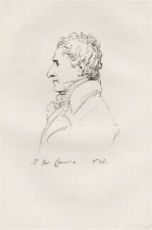 Antonio Canova, by Mary Dawson Turner (née Palgrave), after  Thomas Phillips - NPG D22564