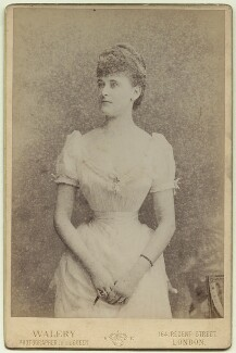 Frances Evelyn ('Daisy') Greville (née Maynard), Countess of Warwick, by Walery - NPG x128405