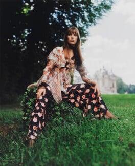Jane Birkin, by Patrick Lichfield - NPG x128496