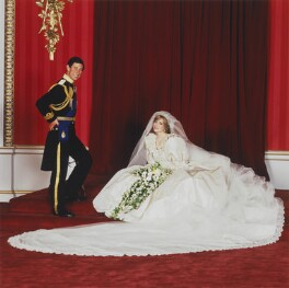 Prince Charles; Diana, Princess of Wales, by Patrick Lichfield - NPG x128498