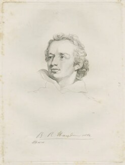 Benjamin Robert Haydon, by Mary Dawson Turner (née Palgrave), after  John Philip Davis ('Pope' Davis), (1816) - NPG D22576 - © National Portrait Gallery, London