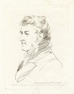 Friedrich Heinrich Alexander, Baron Humboldt, by Mary Dawson Turner (née Palgrave), after  Thomas Phillips - NPG D22580