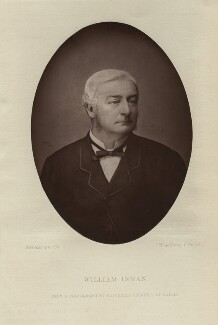 William Inman, by London Stereoscopic & Photographic Company, after  Raffaello Ferretti - NPG x128430
