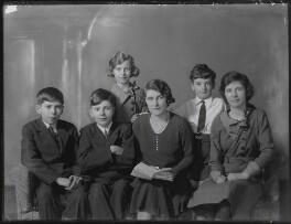 The St Aubyn family, by Bassano Ltd - NPG x150173