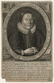 Josias Shute, by William Marshall - NPG D22613