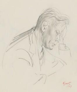 Sir James Richards, by Walter Goetz - NPG 6459