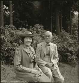 (George) Warwick Deeping; Maude Phyllis Deeping (née Merrill), by John Gay - NPG x128506