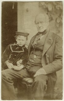 Frederick Thomas Hollyer; Thomas Armstrong, by Unknown photographer, May 1875 - NPG Ax128323 - © National Portrait Gallery, London