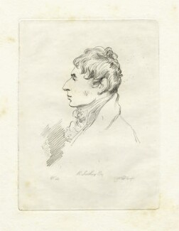 Robert Southey, by Mary Dawson Turner (née Palgrave), after  Thomas Phillips, (1815) - NPG D22592 - © National Portrait Gallery, London
