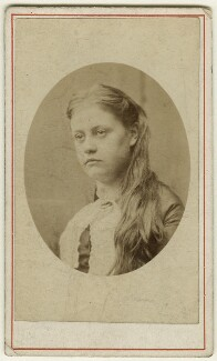Eleanor Mary Hollyer, by Unknown photographer - NPG Ax128369