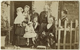 The Hollyer and Armstrong families, by Unknown photographer - NPG Ax128345