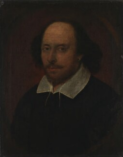William Shakespeare, associated with John Taylor, circa 1600-1610 - NPG  - © National Portrait Gallery, London