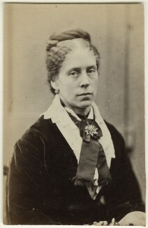 Mary Anne Hollyer (née Armstrong), by Unknown photographer - NPG Ax128311