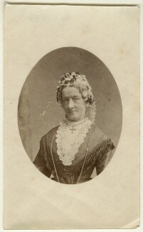 Sarah Elkins, by Unknown photographer - NPG Ax128333