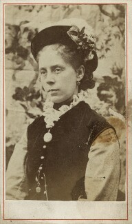 Mary Anne Hollyer (née Armstrong), by Unknown photographer - NPG Ax128389