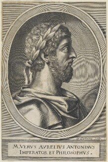 Marcus Aurelius, by William Faithorne - NPG D22628