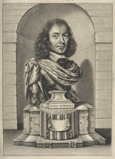 Elias Ashmole, by William Faithorne - NPG D22630