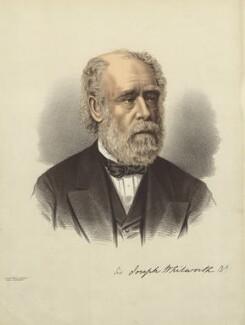 Sir Joseph Whitworth, 1st Bt, after Vernon Heath - NPG D23022