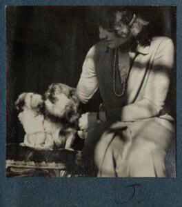 Julian Vinogradoff (née Morrell), by Lady Ottoline Morrell - NPG Ax142469