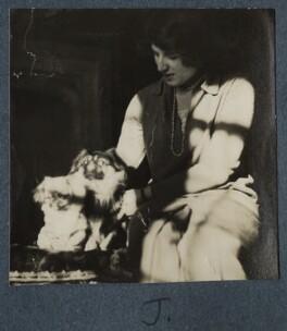 Julian Vinogradoff (née Morrell), by Lady Ottoline Morrell - NPG Ax142471
