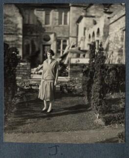 Julian Vinogradoff (née Morrell), by Lady Ottoline Morrell - NPG Ax142470