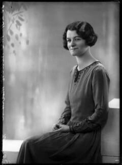 Margaret Morrison (née Kent), by Bassano Ltd - NPG x150373