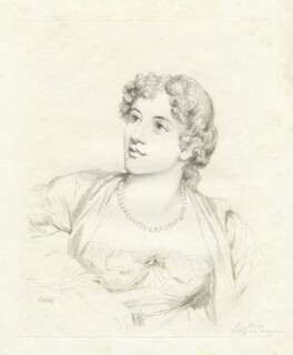 Probably Elizabeth (née Turner), Lady Palgrave, by Mary Dawson Turner (née Palgrave), after  Unknown artist - NPG D22599