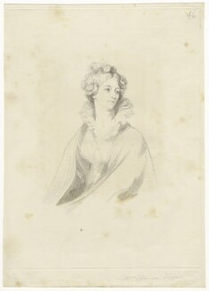 Probably Mary Dawson Turner (née Palgrave), by Mary Dawson Turner (née Palgrave), after  Unknown artist - NPG D22600