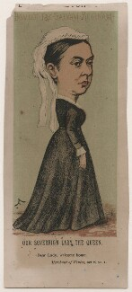 Queen Victoria, by Faustin Betbeder ('Faustin') - NPG D23023