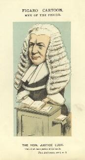 Sir Robert Lush, by Faustin Betbeder ('Faustin') - NPG D23026