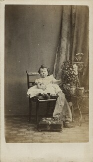 Unknown child, by Frederick Hollyer - NPG Ax128372