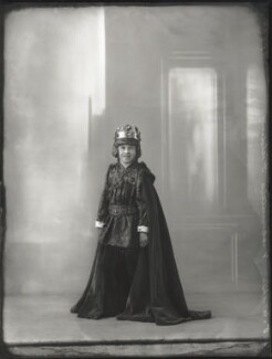 Hon. Henry Anthony Feilding as Henry VII, by Bassano Ltd, 2 June 1932 - NPG x150273 - © National Portrait Gallery, London