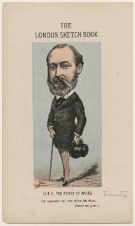 King Edward VII, by Faustin Betbeder ('Faustin') - NPG D23032