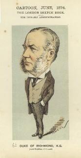 Charles Henry Gordon-Lennox, 6th Duke of Richmond, 6th Duke of Lennox and 1st Duke of Gordon, by Faustin Betbeder ('Faustin') - NPG D23037