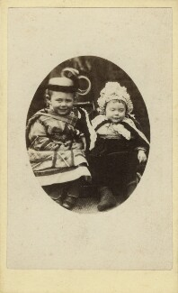 Frederick Thomas Hollyer; Eleanor Mary Hollyer, by Unknown photographer - NPG Ax128302