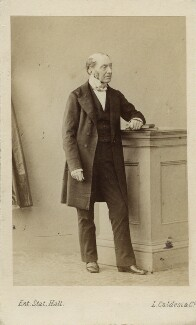 Sir Charles Lock Eastlake, by Leonida Caldesi - NPG Ax11913