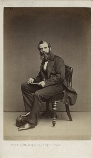 Richard Ansdell, by John & Charles Watkins - NPG Ax11921