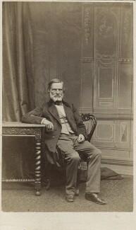 John Gibson, by Ferdinand Jean de la Ferté Joubert - NPG Ax11922