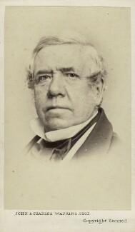 David Roberts, by John & Charles Watkins - NPG Ax11926