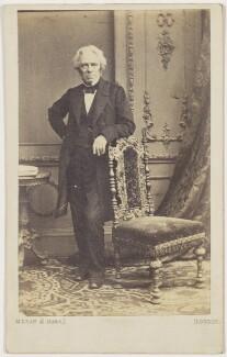 Michael Faraday, by McLean & Haes - NPG Ax11937