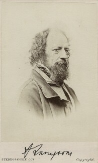Alfred, Lord Tennyson, by London Stereoscopic & Photographic Company - NPG Ax11942