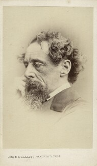 Charles Dickens, by John & Charles Watkins - NPG Ax11944