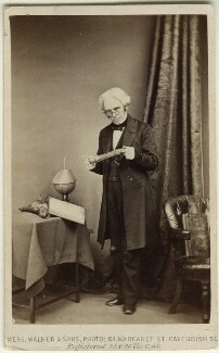 Michael Faraday, by William Walker & Sons - NPG Ax11953