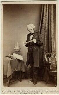 Michael Faraday, by William Walker & Sons - NPG Ax11953