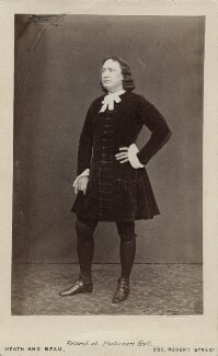 Charles Albert Fechter as Lagardere in 'The Duke's Motto', by Heath & Beau, or by  Adolphe Paul Auguste Beau - NPG Ax11954