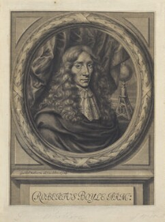 Robert Boyle, by William Faithorne, 1664 - NPG D22648 - © National Portrait Gallery, London