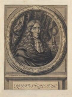 Robert Boyle, by William Faithorne - NPG D22648
