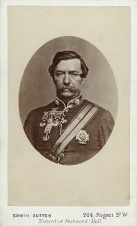 Robert Cornelis Napier, 1st Baron Napier of Magdala, by Edwin Sutton, 1868 - NPG Ax11958 - © National Portrait Gallery, London