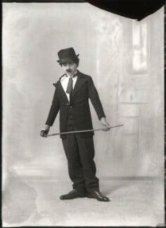 Master G. Archer as Charles Chaplin, by Bassano Ltd - NPG x150331