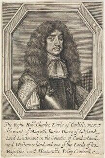 Charles Howard, 1st Earl of Carlisle, by William Faithorne - NPG D22660
